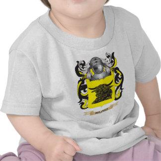 Escudo de armas de Muniz (escudo de la familia) Camiseta