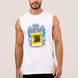 Escudo de armas de Muniz - escudo de la familia Camisetas Sin Mangas