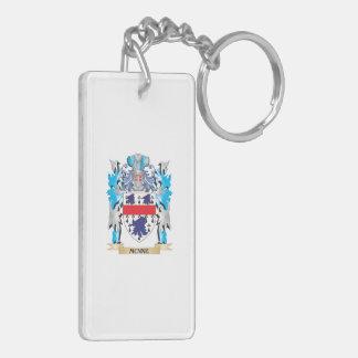 Escudo de armas de Munne - escudo de la familia Llavero Rectangular Acrílico A Doble Cara