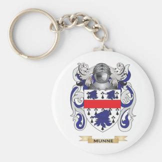 Escudo de armas de Munne (escudo de la familia) Llaveros