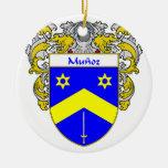 Escudo de armas de Munoz/escudo de la familia Ornaments Para Arbol De Navidad