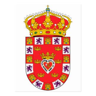 Escudo de armas de Murcia (España) Postal