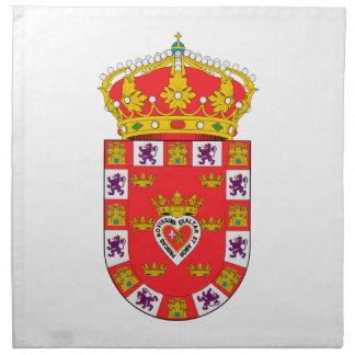 Escudo de armas de Murcia (España) Servilleta