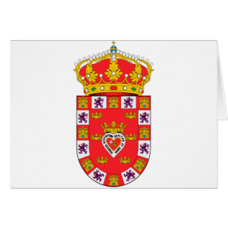 Escudo de armas de Murcia (España) Tarjeta De Felicitación