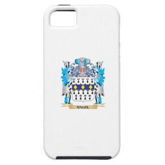 Escudo de armas de Nagel - escudo de la familia iPhone 5 Carcasas