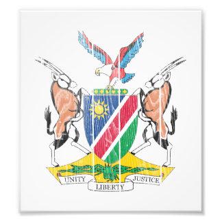 Escudo de armas de Namibia Fotos
