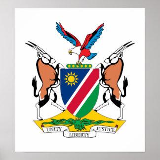 Escudo de armas de Namibia Impresiones