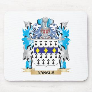 Escudo de armas de Nangle - escudo de la familia Alfombrilla De Ratón