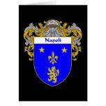 Escudo de armas de Napoli (cubierto) Felicitación