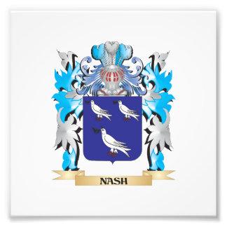 Escudo de armas de Nash - escudo de la familia Arte Fotográfico