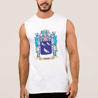 Escudo de armas de Nash - escudo de la familia Camiseta Sin Mangas