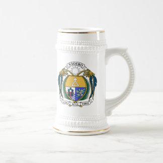 Escudo de armas de Nauru Jarra De Cerveza