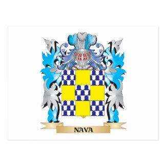 Escudo de armas de Nava - escudo de la familia Postales