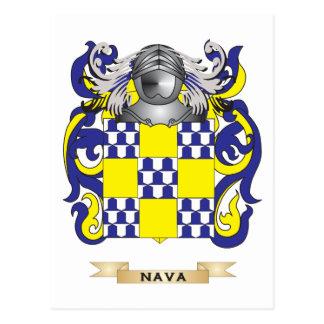 Escudo de armas de Nava (escudo de la familia) Postales