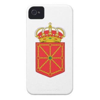 Escudo de armas de Navarra (España) Case-Mate iPhone 4 Fundas