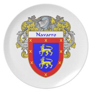 Escudo de armas de Navarro/escudo de la familia Platos
