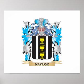 Escudo de armas de Naylor - escudo de la familia Impresiones