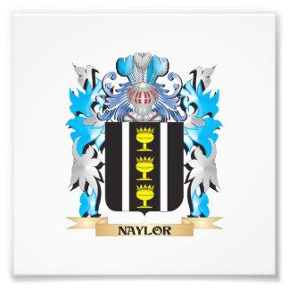 Escudo de armas de Naylor - escudo de la familia Fotografias