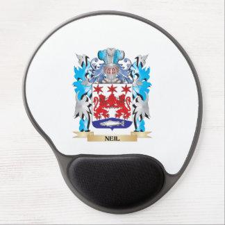 Escudo de armas de Neil - escudo de la familia Alfombrilla De Raton Con Gel