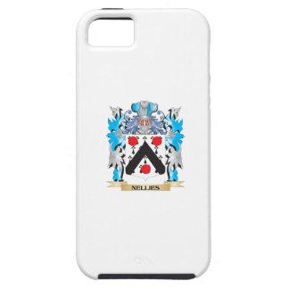 Escudo de armas de Nellies - escudo de la familia iPhone 5 Case-Mate Cárcasa