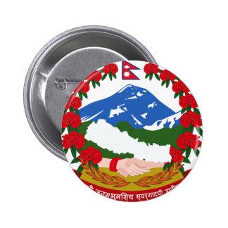 Escudo de armas de Nepal Pin