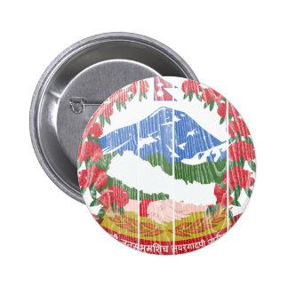 Escudo de armas de Nepal Pins