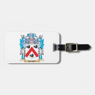 Escudo de armas de Nesbit - escudo de la familia Etiquetas Para Equipaje