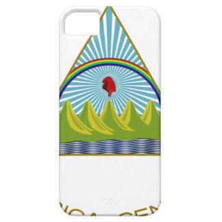 Escudo de armas de Nicaragua iPhone 5 Case-Mate Protectores