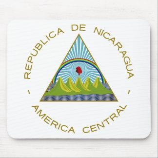 Escudo de armas de Nicaragua Alfombrilla De Ratón