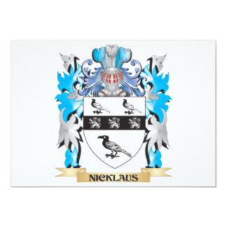 Escudo de armas de Nicklaus - escudo de la familia Anuncios