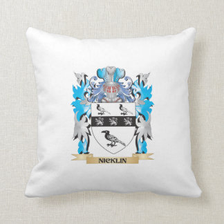 Escudo de armas de Nicklin - escudo de la familia Cojines