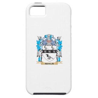 Escudo de armas de Nicklin - escudo de la familia iPhone 5 Carcasas