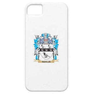 Escudo de armas de Nicklin - escudo de la familia iPhone 5 Carcasa