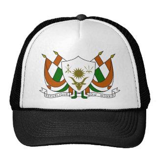 Escudo de armas de Niger Gorros