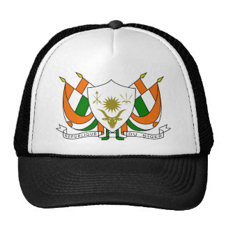 Escudo de armas de Niger Gorros Bordados
