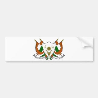 Escudo de armas de Niger Pegatina Para Auto