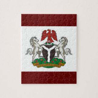 Escudo de armas de Nigeria Rompecabezas