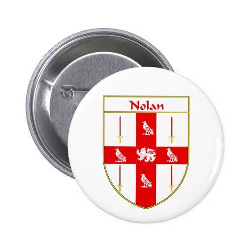 Escudo de armas de Nolan/escudo de la familia Pin