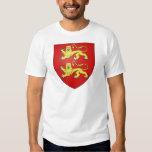 Escudo de armas de Normandía (Francia) Remeras