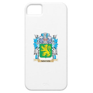 Escudo de armas de Norton - escudo de la familia iPhone 5 Funda
