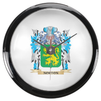 Escudo de armas de Norton - escudo de la familia Relojes Aquavista