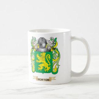 Escudo de armas de Norton (escudo de la familia) Tazas De Café