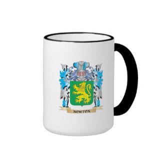 Escudo de armas de Norton - escudo de la familia Taza De Café