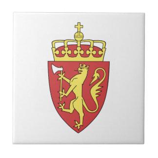 Escudo de armas de Noruega Teja