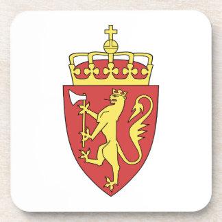 Escudo de armas de Noruega Posavasos