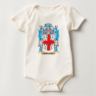 Escudo de armas de Norwood - escudo de la familia Mamelucos De Bebé