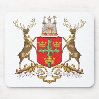 Escudo de armas de Nottingham Tapetes De Raton