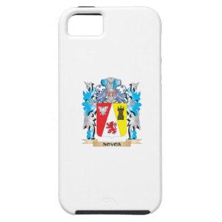 Escudo de armas de Novoa - escudo de la familia iPhone 5 Case-Mate Fundas