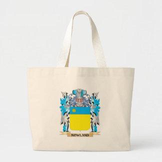 Escudo de armas de Nowland - escudo de la familia Bolsas