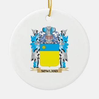 Escudo de armas de Nowland - escudo de la familia Adornos De Navidad